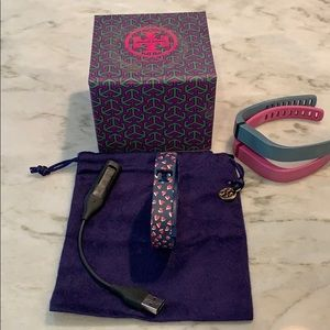 Tory Burch Fitbit Flex bundle with gift box & bag